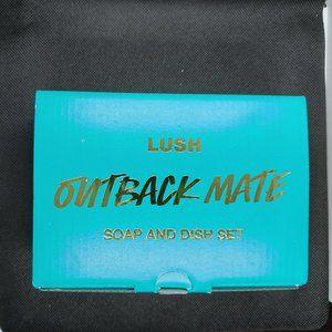 Lush Outback Mate - Soap & Dish Set